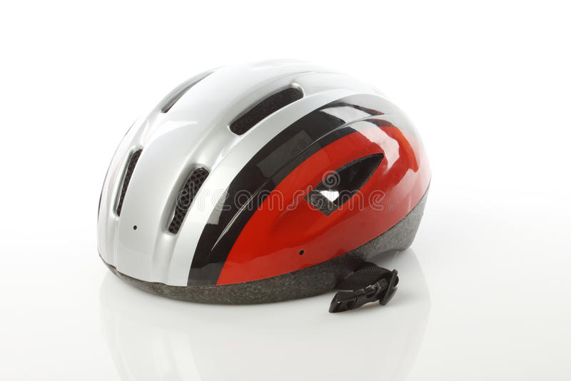roweru hełm obrazy stock