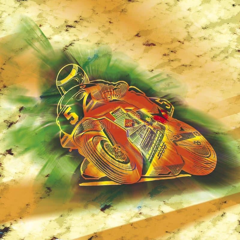 Download Roweru silnik ilustracji. Ilustracja złożonej z przejażdżka - 13342555