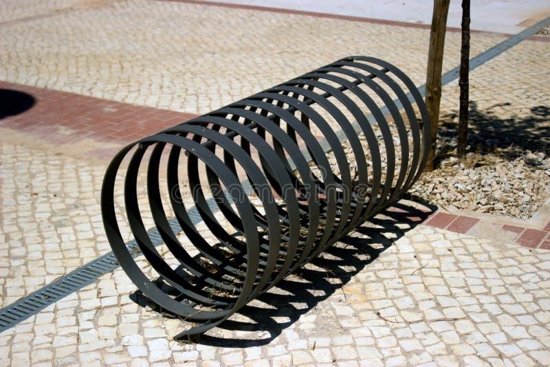 Roweru stojak zdjęcia stock