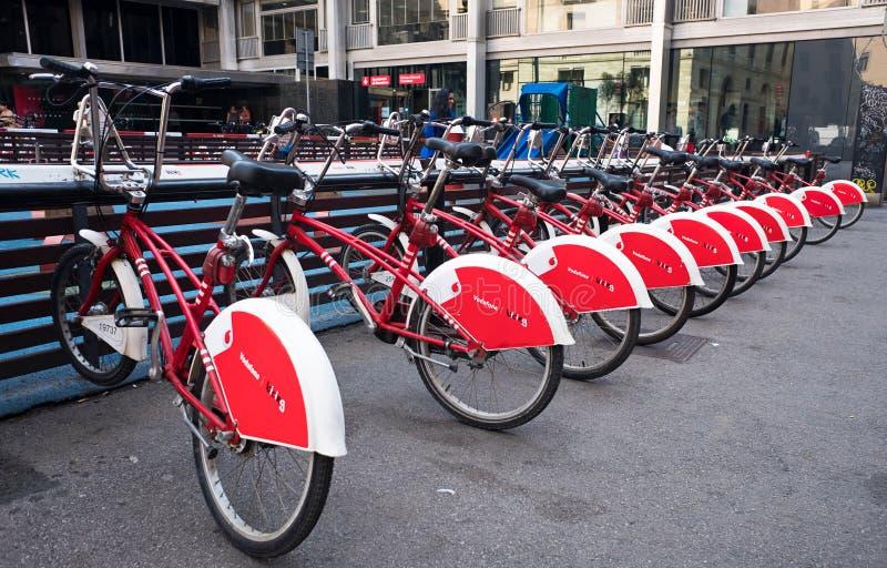 Rowery dla czynszu zdjęcie royalty free