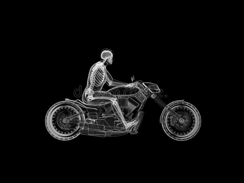 rowerzyści zredukowani ilustracji