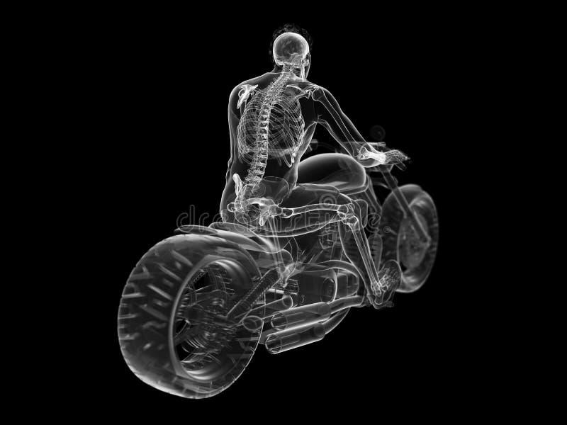 rowerzyści zredukowani ilustracja wektor
