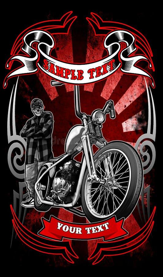 Rowerzysta odzież ilustracja wektor
