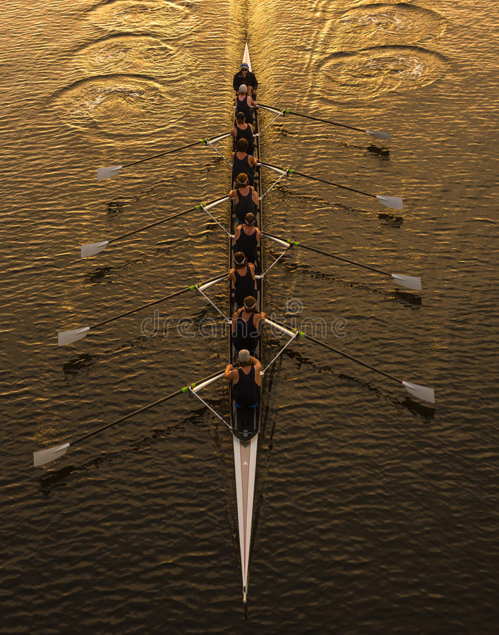 rowing стоковое фото rf