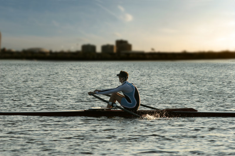 Rowing alone
