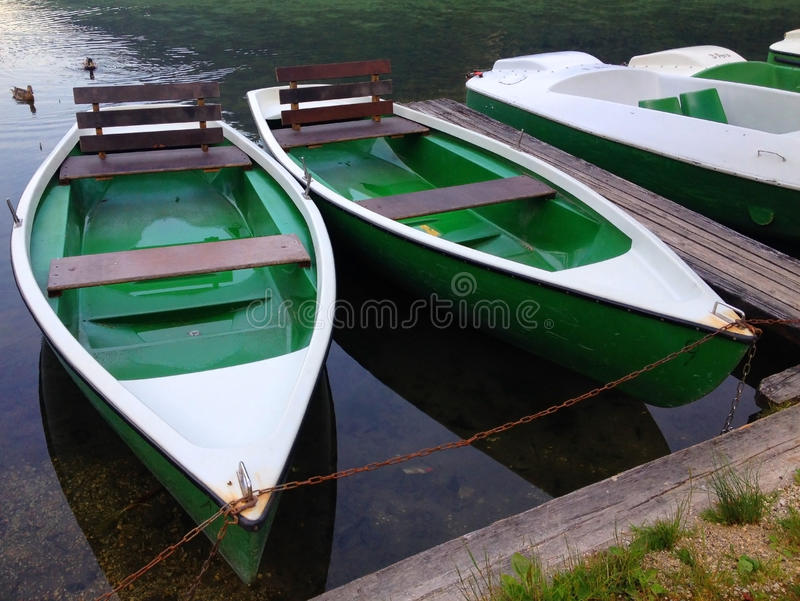 Rowing Boats stock images