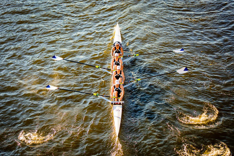 Rowing crew stock photos
