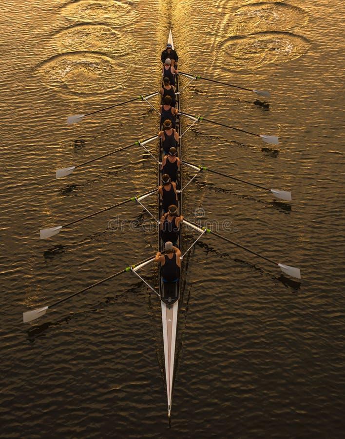 Free Rowing Team Royalty Free Stock Photo - 56964135