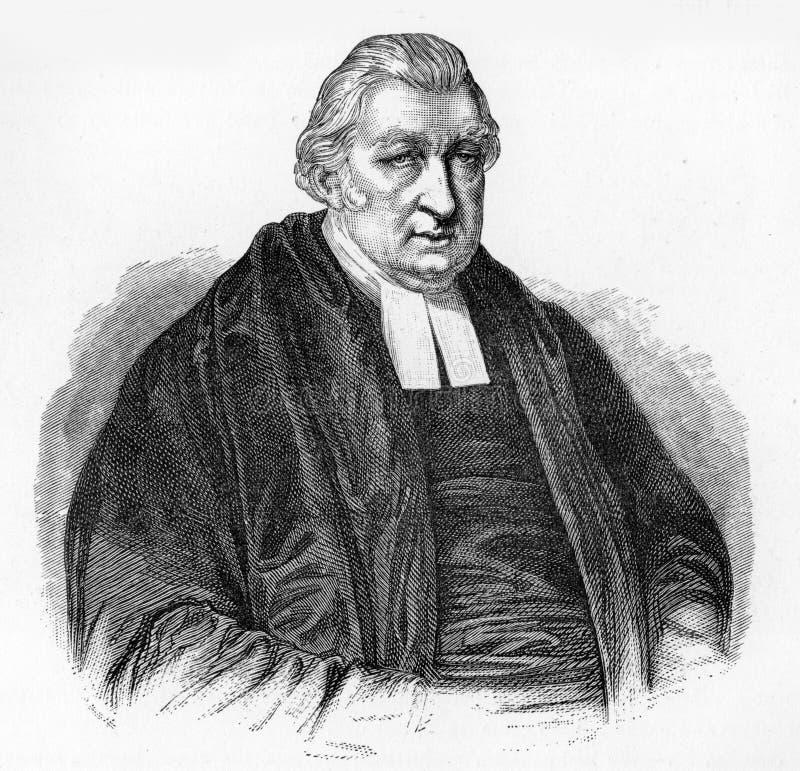 Rowland Hill, prediker vector illustratie