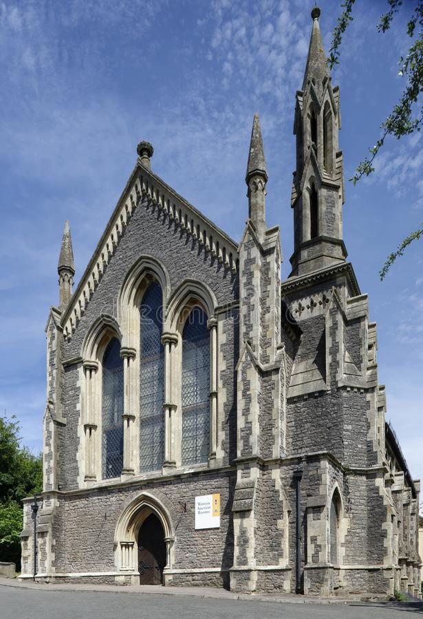 Rowland Hill Tabernacle Chapel, Tabernakelhoogte stock afbeeldingen