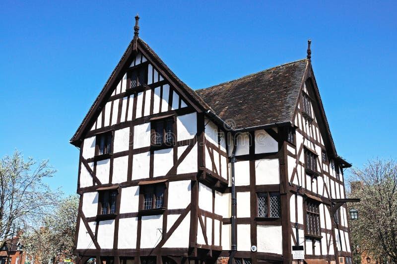 Rowleys House, Shrewsbury. stock photos