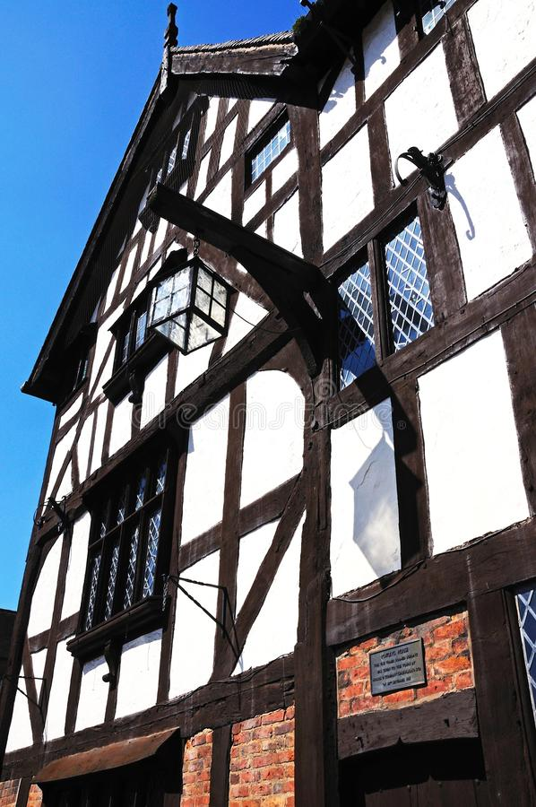 Rowleys House, Shrewsbury. stock image