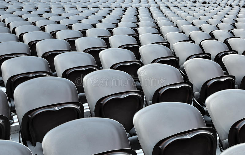 Download A rows black seats stock photo. Image of donbass, competition - 20640260