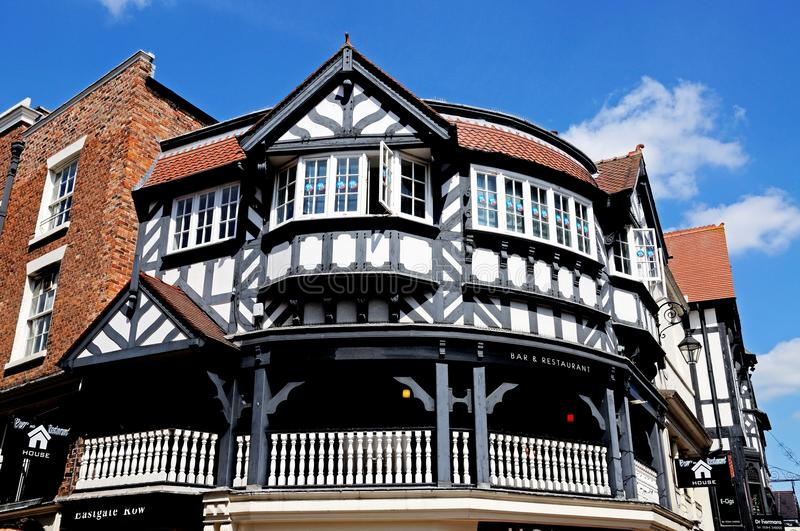 The Rows buildings, Chester. royalty free stock photo
