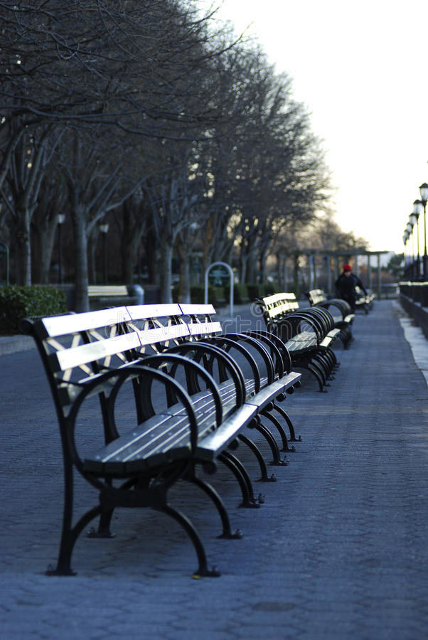 Rows Of Empty Chairs Royalty Free Stock Images