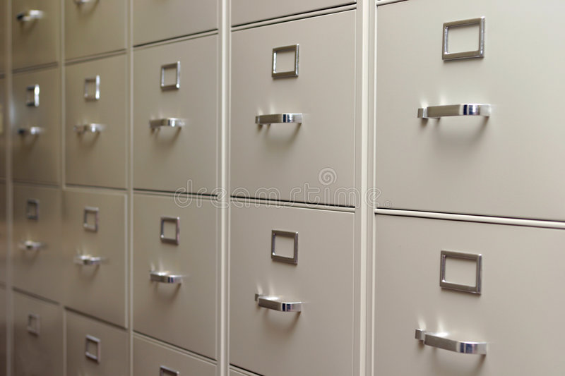 Download Rows and rows stock photo. Image of cabinet, office, rows - 69738