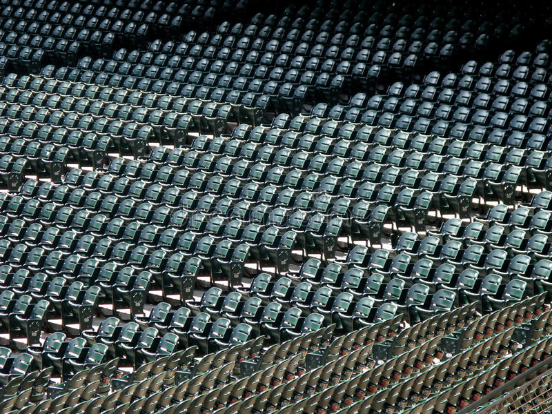 Download Rows of seats in stadium stock image. Image of rows, benches - 16251741