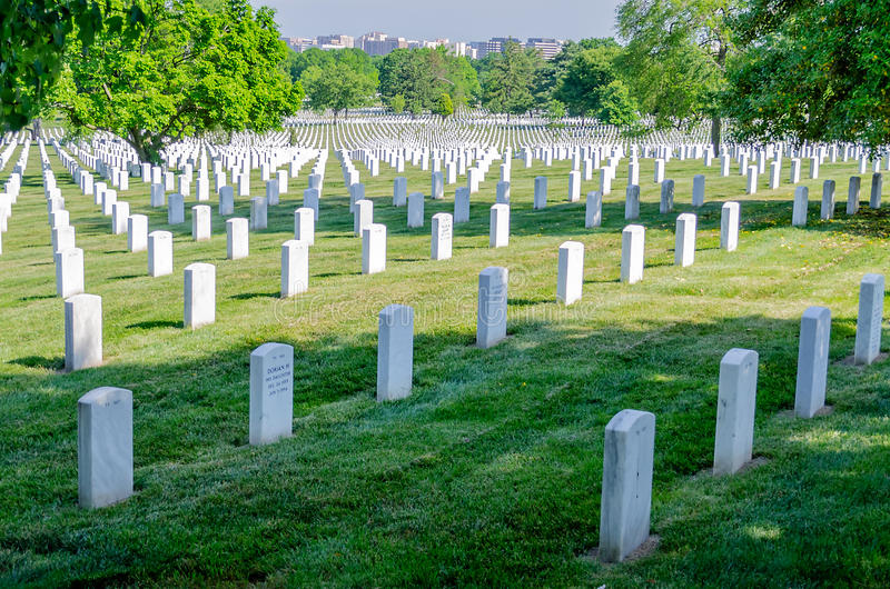 Download Rows of White Grave Stones editorial stock photo. Image of memorial - 32328678