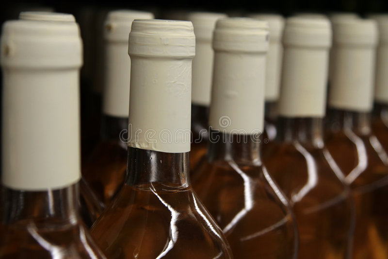 Download Rows of wine bottles stock image. Image of appetising - 5907875