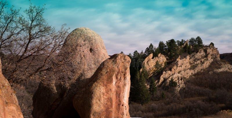 Roxbury-Park 2 lizenzfreies stockbild