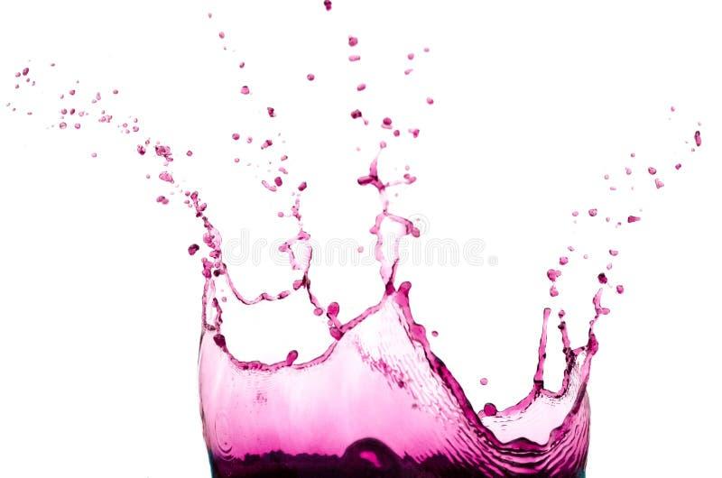 Roxo da cor de água fotos de stock