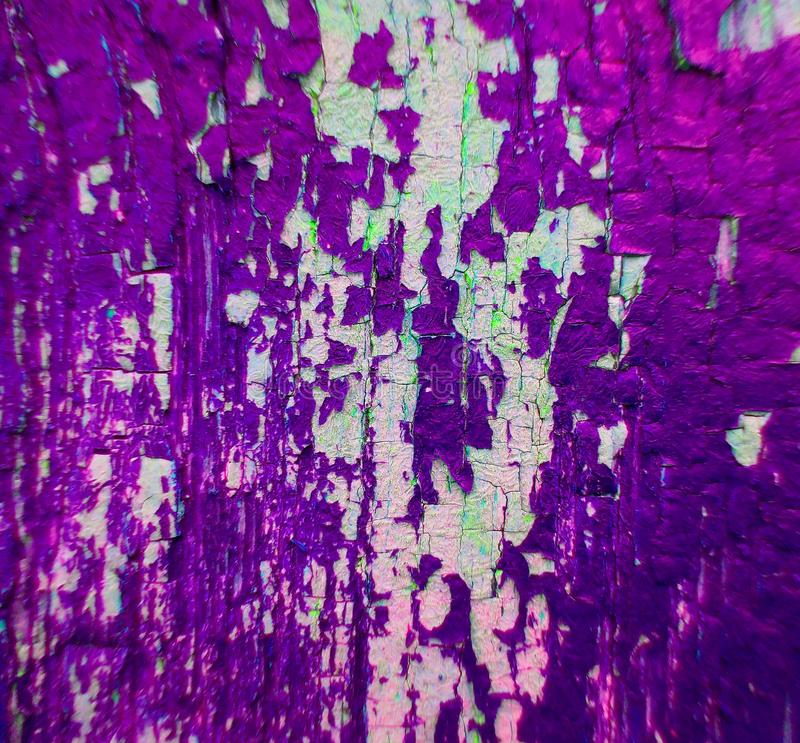 Roxo de madeira da textura do fundo da pintura imagens de stock royalty free