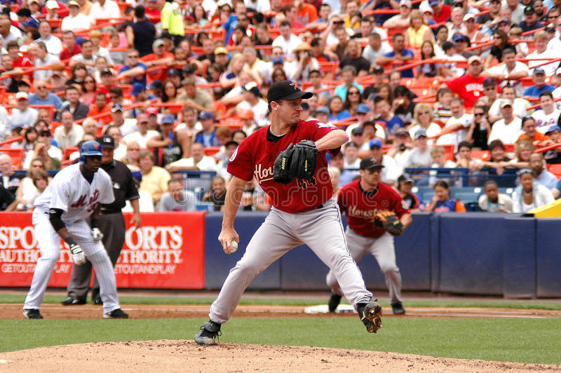 Roy Oswalt Houston Astros pitcher. #44 Roy Oswalt pitcher Houston Astros stock image