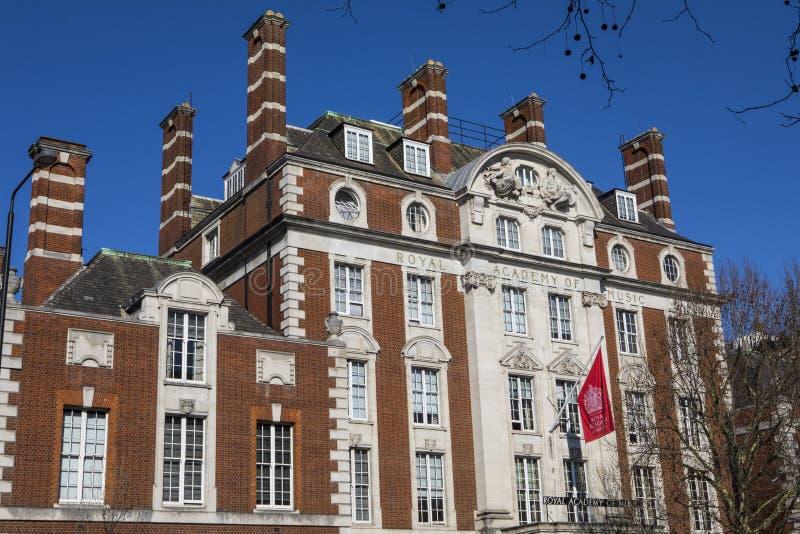 Royal Academy da música em Londres fotografia de stock