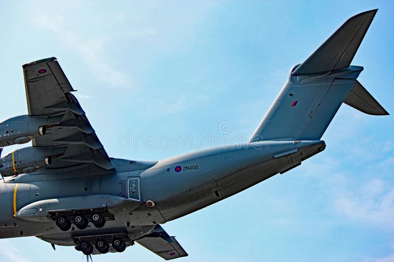 Royal Air Force Airbus A400M Back End View photographie stock