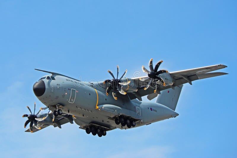 Royal Air Force Airbus A400M Front View photographie stock libre de droits
