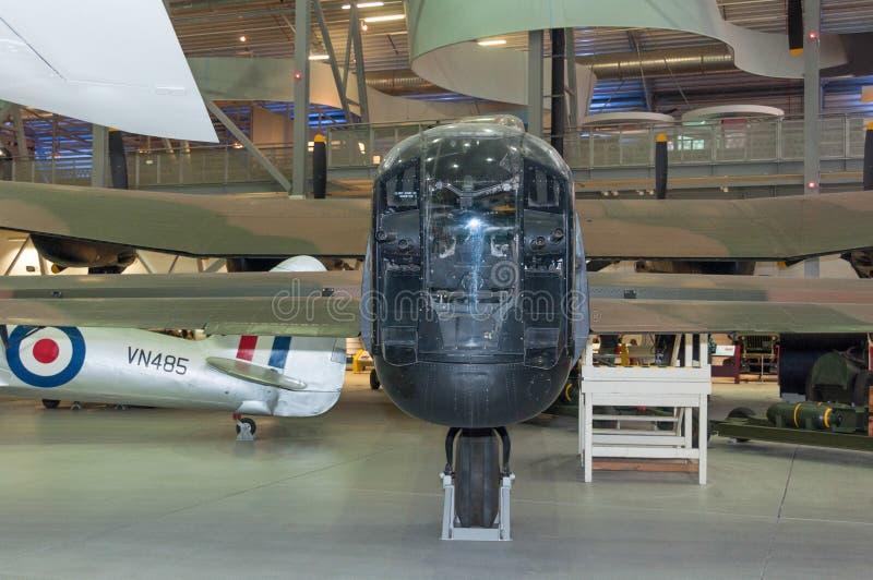 Royal Air Force Avro Lancaster B I PA474 fotografia stock