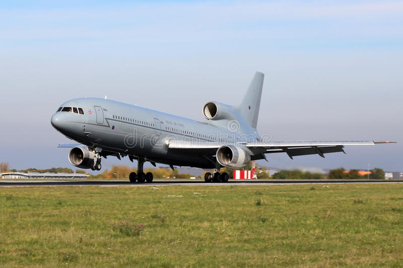 Royal Air Force Tristar royalty free stock image