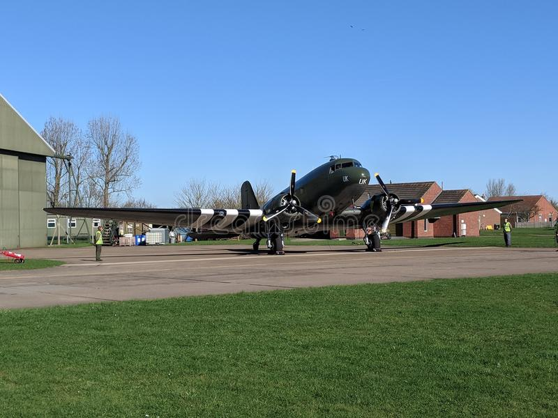 Royal Air Force ww2 de Decota foto de archivo libre de regalías