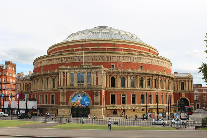The Royal Albert Hall royalty free stock photos