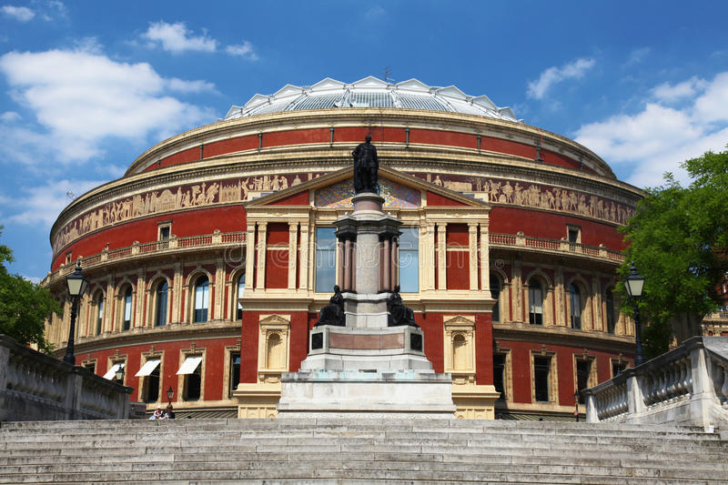 The Royal Albert Hall In London Royalty Free Stock Photography