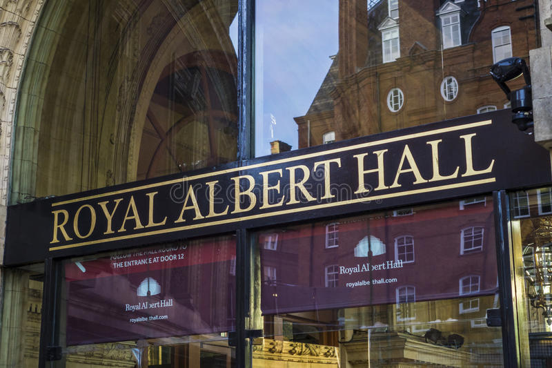 Royal Albert Hall London stock photography