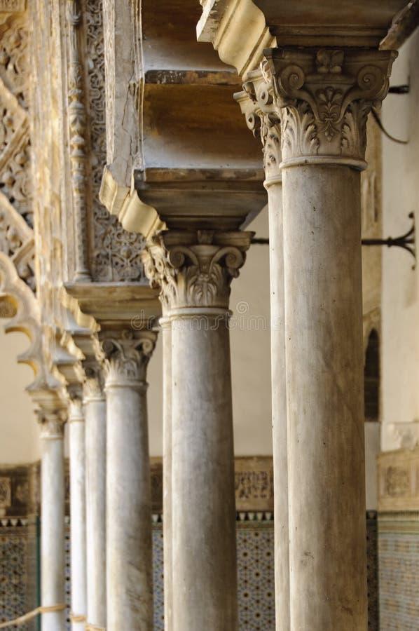 Royal Alcazar in Seville, Spain stock photos