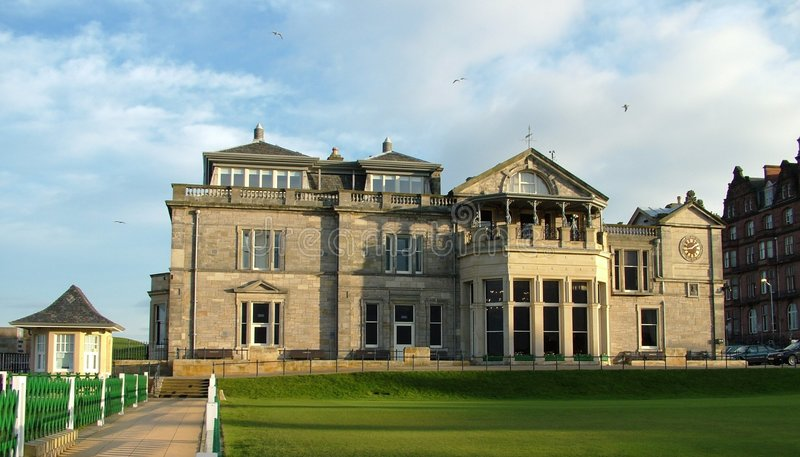 The Royal and Ancient Club House stock image