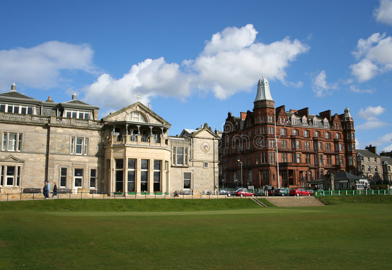 Royal and Ancient clubhouse stock images