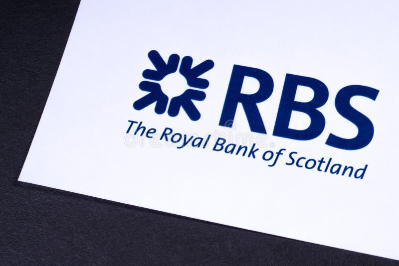 Royal Bank av den Skottland logoen arkivbild