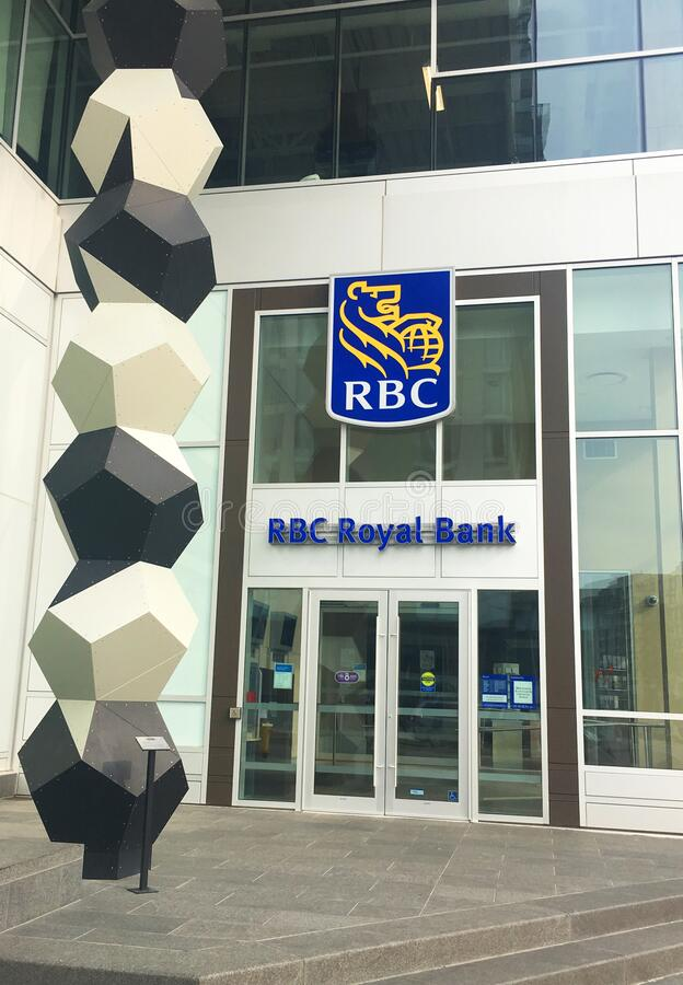 Royal Bank of Canada royalty free stock image