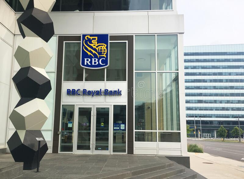 Royal Bank of Canada stock image