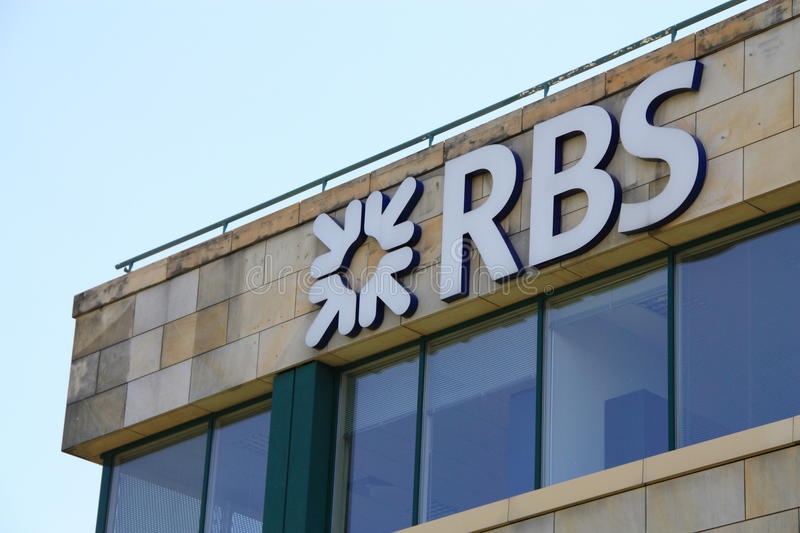 Royal Bank de Scotland foto de stock