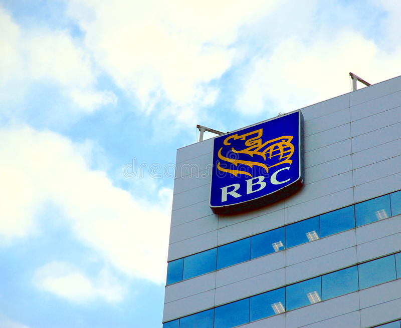 Royal Bank du Canada signent images stock