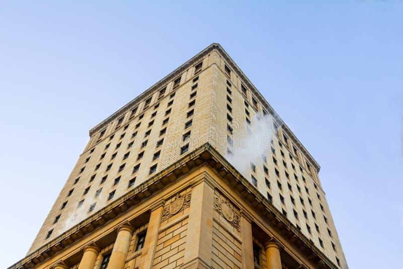 Royal Bank góruje w Montreal, Quebec, Kanada obraz stock