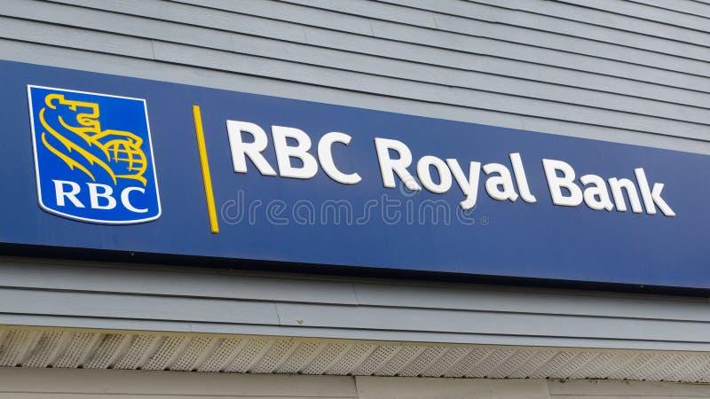 Royal Bank van het Teken van Canada stock foto's