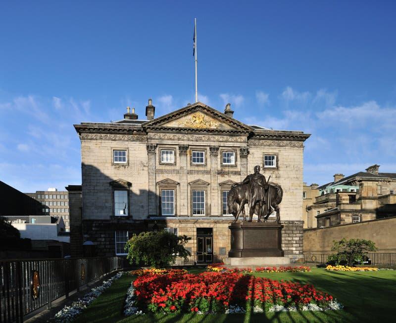 Royal Bank von Schottland, Edinburgh, Schottland, Großbritannien stockfotografie
