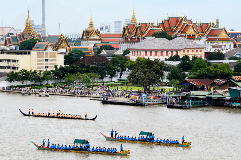 The Royal Barge Procession Editorial Stock Photo