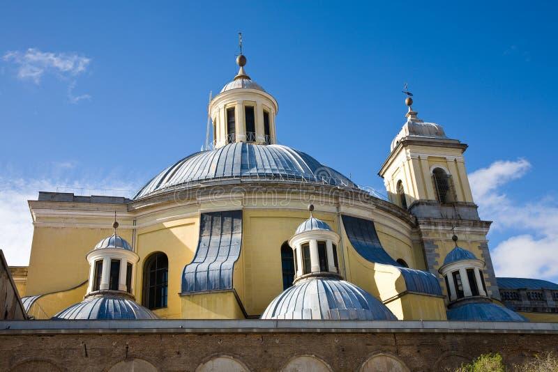 Royal Basilica of San Francisco el Grande, Madrid stock photo