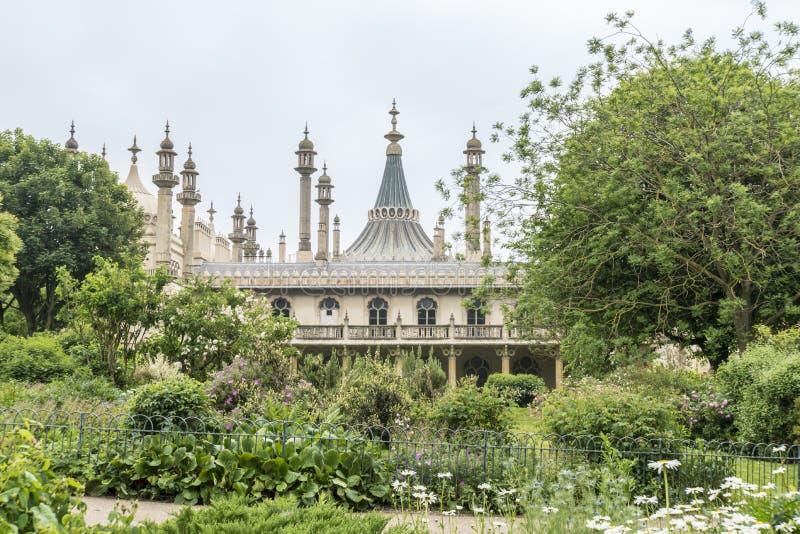 Royal Brighton Pavilion, UK. The Royal Pavilion in Brighton, East Sussex, UK royalty free stock image